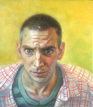 Artist Brent Holland self-portrait